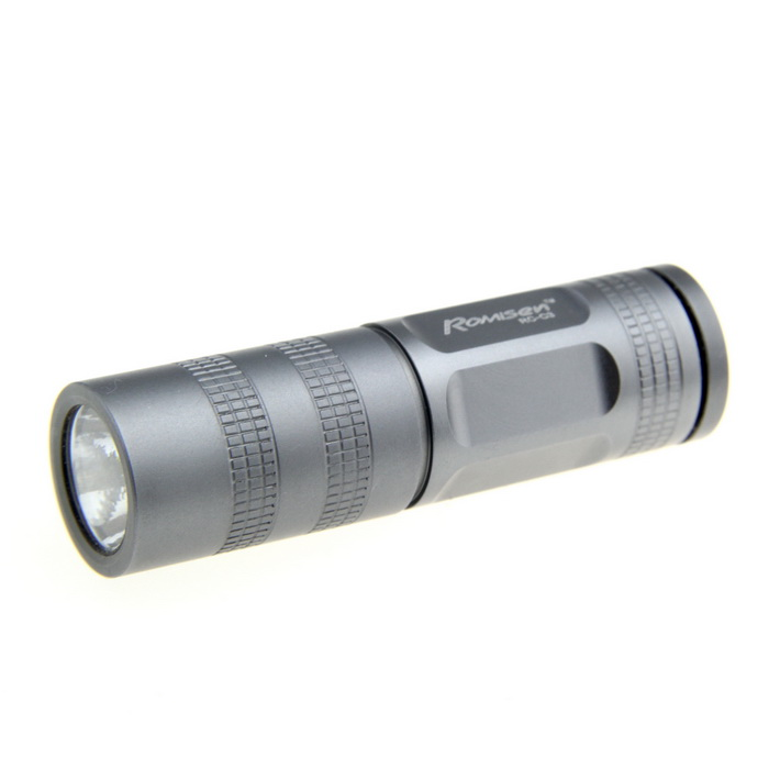 MXDL 3W Flashlight Silver