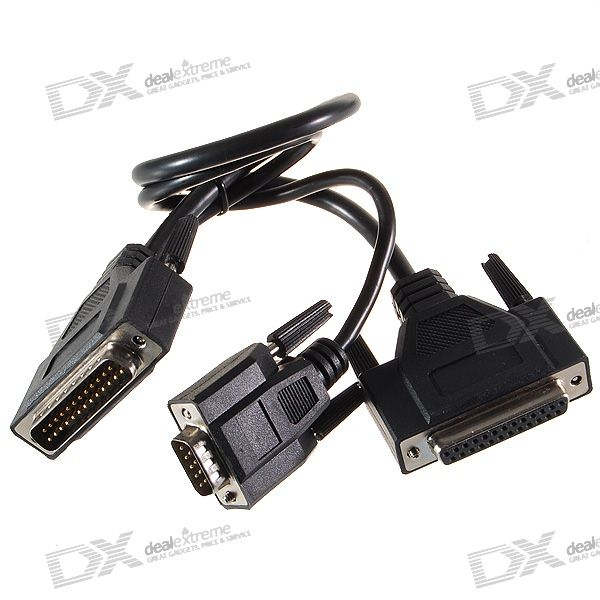 Parallel Port Cord : Usb to db serial port cn parallel cable free