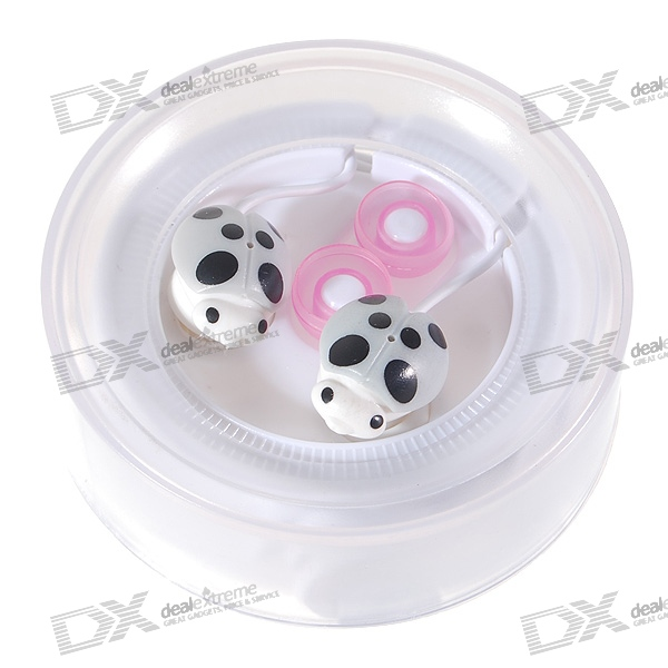 Cute Ladybug Noise Isolation In-Ear Stereo Earphones (3.5mm Jack/100cm Cable)
