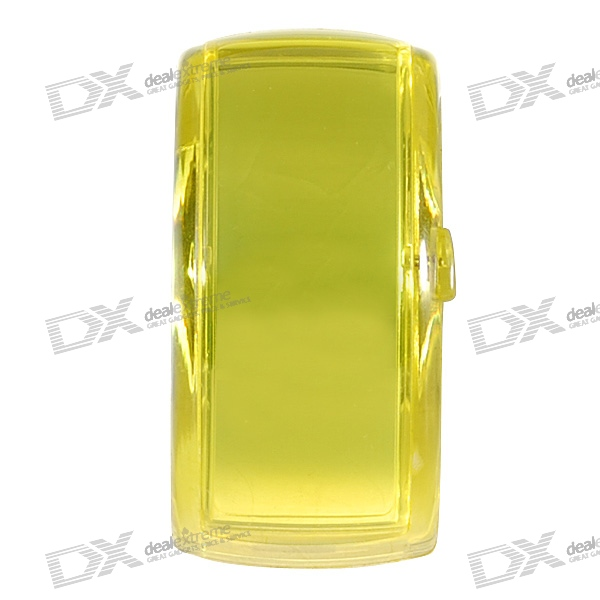 Odm Stylish LED Dot-Matrix Fashion Watch with Weekday Display (Translucent Yellow)