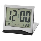 Flip-up Digital Alarm Clock + Calendar + Thermometer
