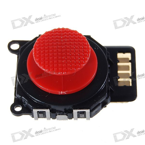 Repair Parts Replacement Analogue Stick Module for PSP Slim/2000 (Red)