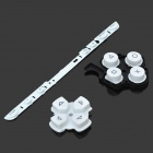 Repair Parts Replacement Buttons for PSP Slim/2000 (White)