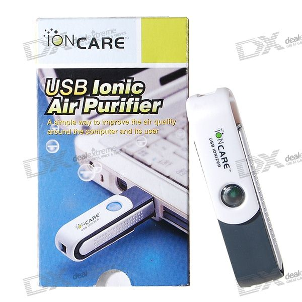 Usb Air Purifier Product ~ Ioncare usb powered air care ionic purifier free