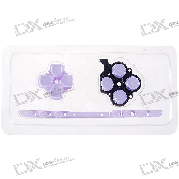 Repair Parts Replacement Buttons for PSP Slim/2000 (Purple) виниловая пленка psp 2000 cg