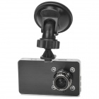 "G2W HD 1080P 3"" TFT Wide Angle Car DVR w/ Mini HDMI / G-sensor / 4-IR LED / NTSC - Black + Silver"