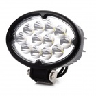 36w Cree XB-D LED 2800lm 12-Weiß 30 Grad Spotlight Work Light - Schwarz