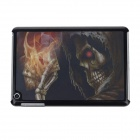Pokeer Skeleton Style 3D Plastic Case for iPad Mini - Black
