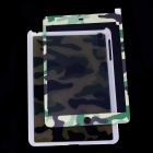 ULTRA Protective Plastic Back Case + Front Screen Sticker for Ipad MINI - Camouflage Green