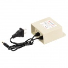 GO-2312A Wall Style AC Power Adapter for Surveillance Camera - Beige (100~260V / 5.5 x 2.1mm)