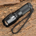 LWJ-03 300lm 5-Mode White Zooming Flashlight w/ Cree XP-G R5 - Black (1 x 18650 / 26650)