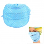 Cotton Mesh Dustproof Face Mask - Blue + White