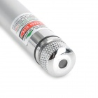 5mW 532nm Green Dot + Starry Night Laser Pointer - Silver (2 x AAA)