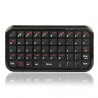 Z-054B Wireless 49-Key Mini Bluetooth V3.0 Keyboard - Black