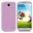 Protective TPU Case w/ Screen Protector + Water Resistant Bag for Samsung Galaxy S4 i9500 - Pink