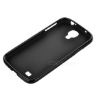 TPU Case w/ Screen Protector for Samsung Galaxy S4 i9500 - Black