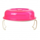 Multifunktionale Double-Layer Wärmedämmung / Heizung Tray w / Cover - Deep Pink + White