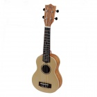 "William 21"" Sapele Plywood 4-String Ukulele - Yellow + Brown"