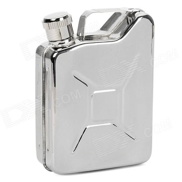 633H Portable 304 Stainless Steel Wine Pot - Silver (5 Ounce / 145ml)