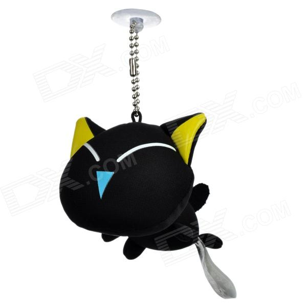 Luoxiaohei Style Polyester + Spandex Doll Toy Decoration - Black + Yellow + Blue + White толстовка toy machine joe s style black