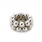 8mm Neodymium Magnet Sphere Steel balls DIY Puzzle Set - Silver (20 PCS)