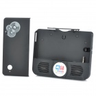 BUDDY Protective Plastic Back Case + Speaker Holder for NDSi - Black