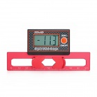 "SKYRC 1.4"" LCD Digital Pitch Gauge w/ Gyroscopic Sensor - Red (2 x CR2032)"