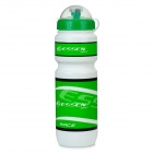 ESSEN 528L Outdoor Sports Bicycle Cycling Water Bottle - Green + White + Black (600 ML)