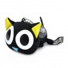 Luoxiaohei Style Polyester + Spandex Doll Toy Decoration - Black + White + Yellow + Blue