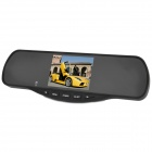 "SP-358 3.5"" LCD 2.4GHz Wireless Car Rearview Monitor + CMOS Camera w/ NTSC - Black"