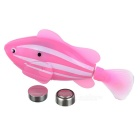 ROBO FISH Simulation Electronic Pet Fish Toy - Pink + Blue (2 x L1154)