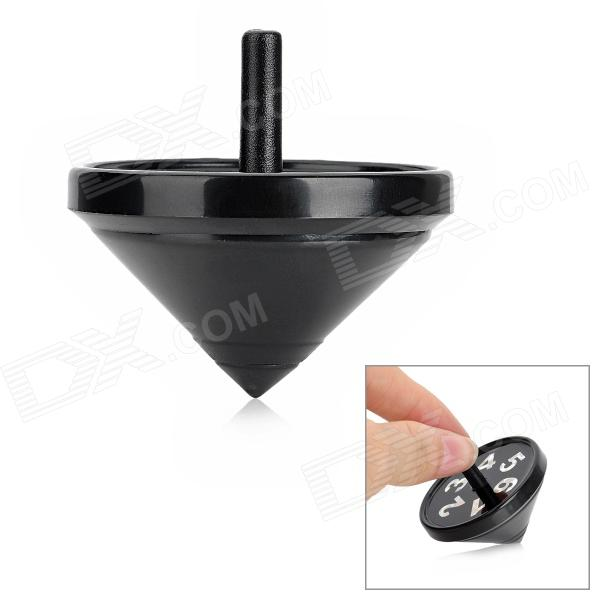Magic Prophetic Spinning Top + Die Toy - Black + White