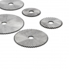 7-in-1 High Speed Steel Circular Saw Blades Set for Electric Grinder - Silver