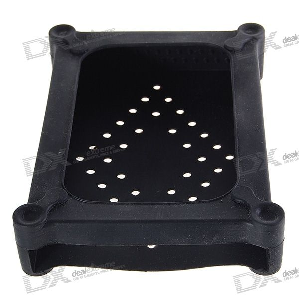 "Anti-Shock Silicone Protective Case with Ventilation for 3.5"" HDD Hard Disk Drives"