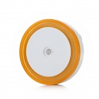 Highlight Light Control LED Night Light - White + Orange (AC 110~240V / 2-Flat-Pin Plug)