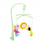 LOKYEE Cute Cartoon Doll Style  Baby Bed Music Bell - Multicolored