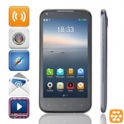 "AMOI N850 Quad-Core Aliyun 2.0 WCDMA Bar Phone w/ 4.5"" Capacitive Screen, Wi-Fi and GPS - Blue Grey"