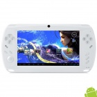 "7"" Capacitive Touch Screen Android 4.0 Game Console w/ TF / Wi-Fi / Camera / HDMI - White"