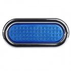 GF-6608C 5.6W 16.8lm 490nm 56-LED Blue Light Car Tail Turning Lamp - Blue + Silver + Black