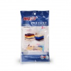 TAILI AY119 Compression Vacuum Storage Bag for Bedding w/ Pump - Blue (2 PCS)