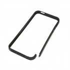 Protective Plastic Bumper Frame w/ Nano SIM Adapters Set for Iphone 5 - Black
