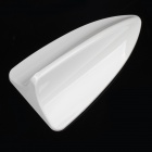 SINCAI Shark Fin Style Plastic Decorative Car Antenna for BMW - White