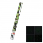 5mW Tubular Aluminum Alloy Laser Flashlight w/ Green Gypsophila Light - Camouflage Green (2 x AAA)