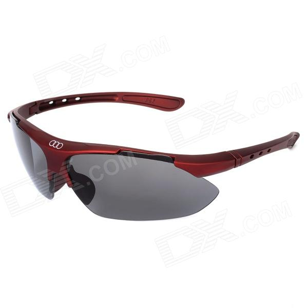 Men's Polaroid Glare-guard Sports Sunglasses w/ UV400 UV Protection - Vermilion