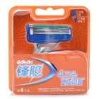 Gillette Replacement 5-Blade Razor Cartridges (4 PCS)