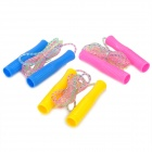 LL-Y-167 Fitness Skipping Jumping Ropes - Blue+ Yellow + Pink (3PCS)