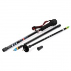 Arakan Ultra Lightweight Portable Carbon Fiber Monopod / Alpenstock for Digital Camera - Black