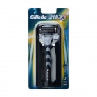 Gillette Schick Handheld 3-Blade Razor w/ 2 Replacement Blades Cartridges