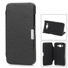 Protective PU Leather Case w/ Stand for Xiaomi M2 - Black