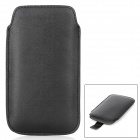 Protective PU Leather Pouch Case for Samsung Galaxy Win i8552 - Black